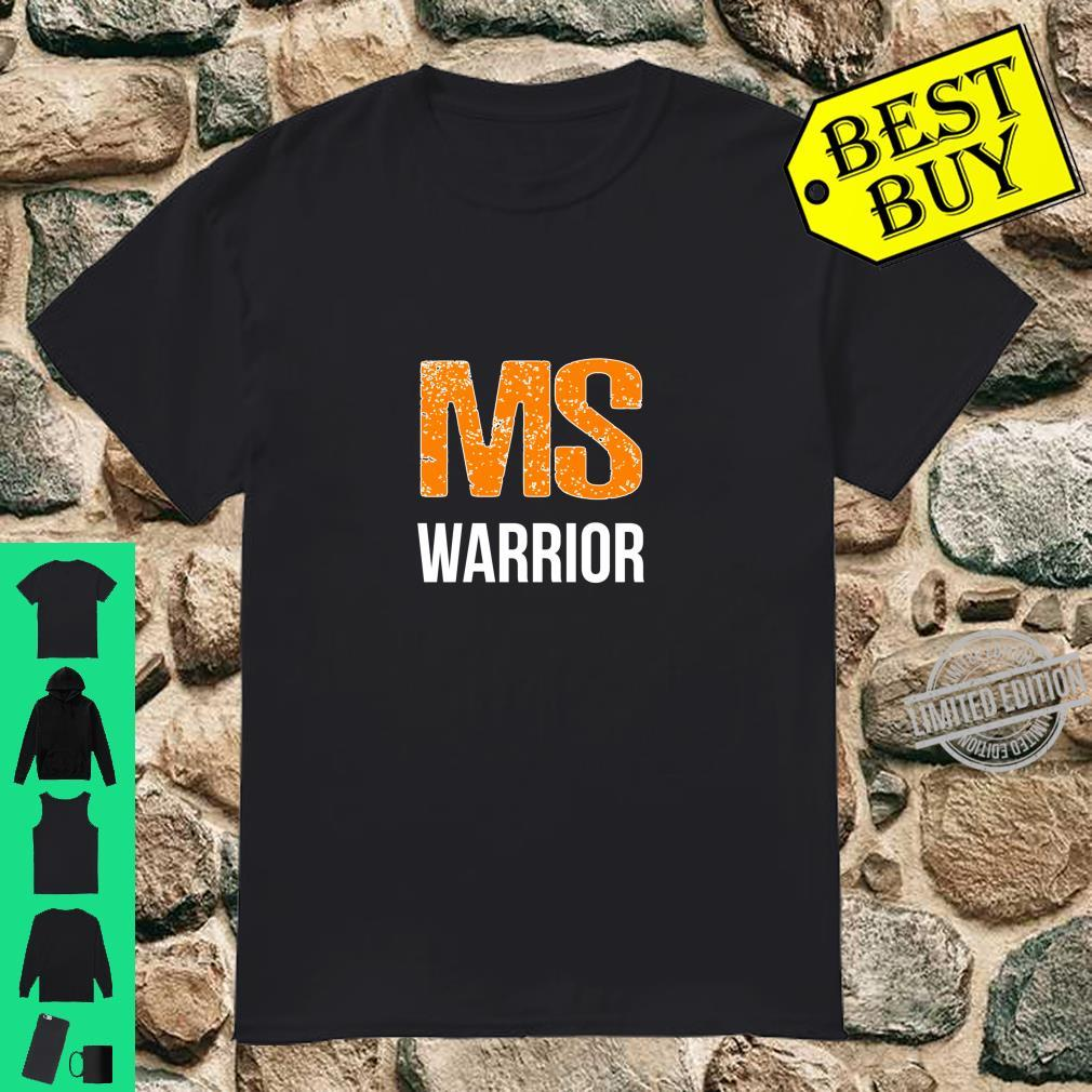 MS Warrior Cute Multiple Sclerosis Awareness, MS Shirt