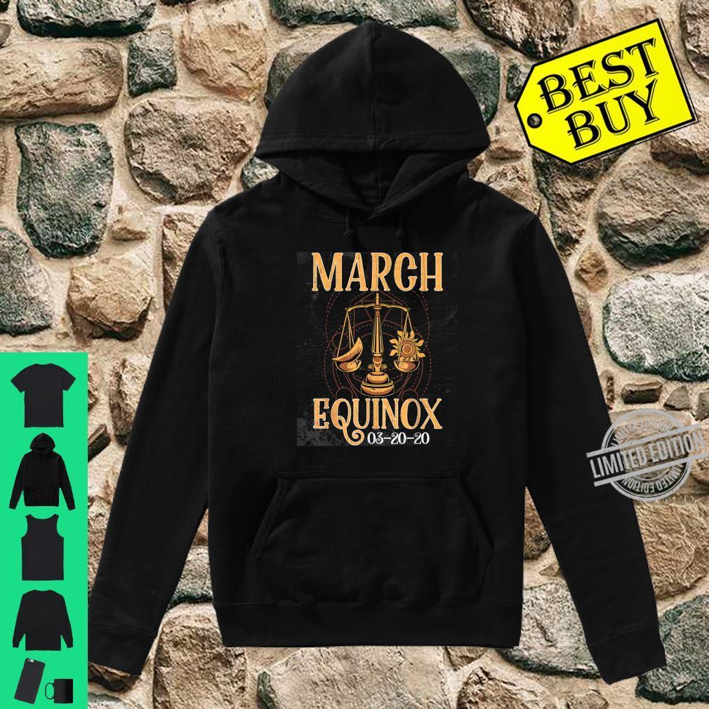 March 20th Equinox 2020 Shirt Scale Stem Sun Earth Gunge Shirt hoodie
