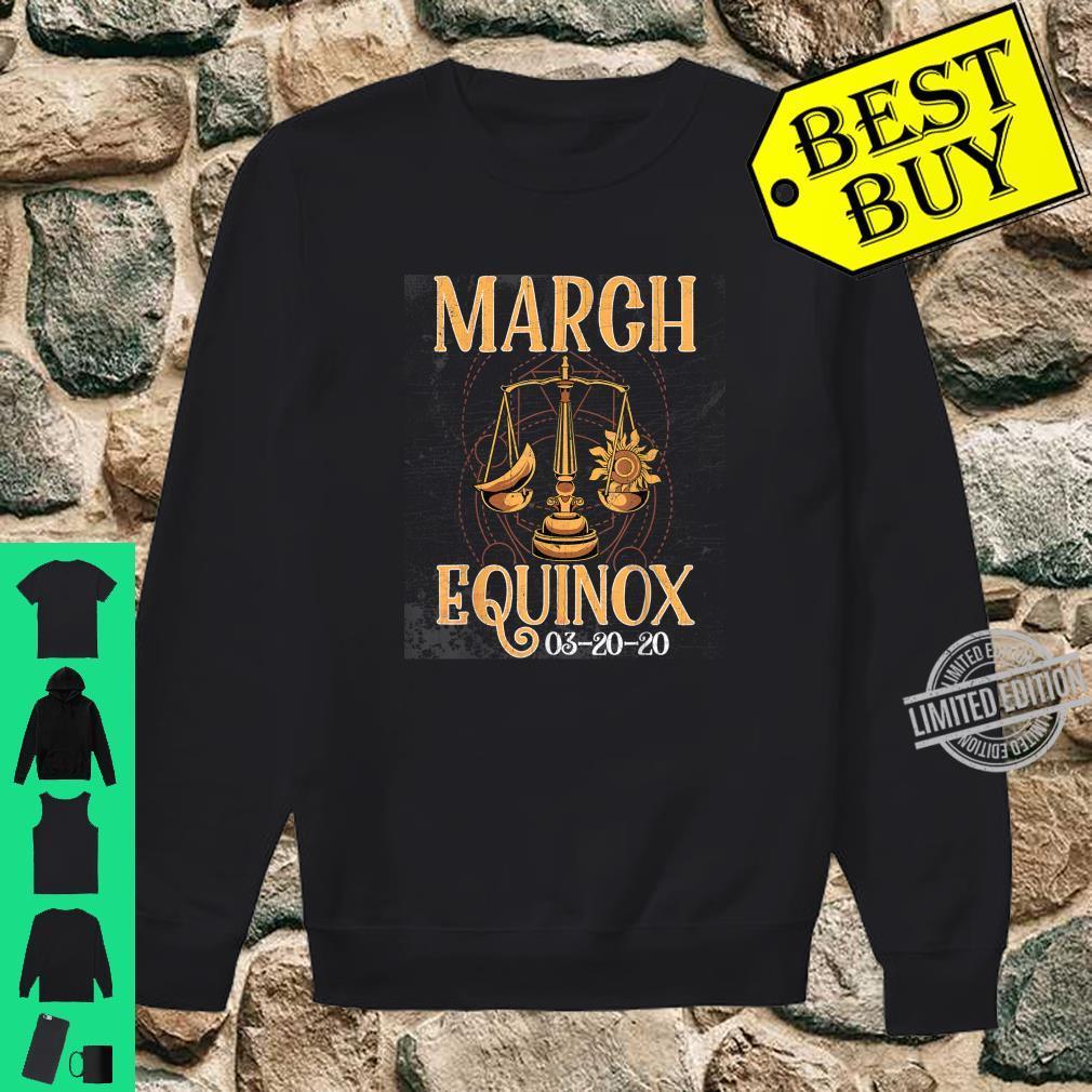 March 20th Equinox 2020 Shirt Scale Stem Sun Earth Gunge Shirt sweater