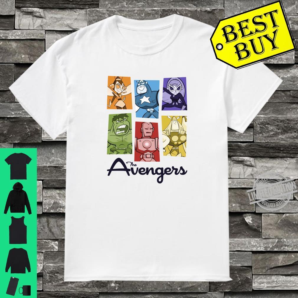 Marvel Avengers Retro Style Panels Shirt