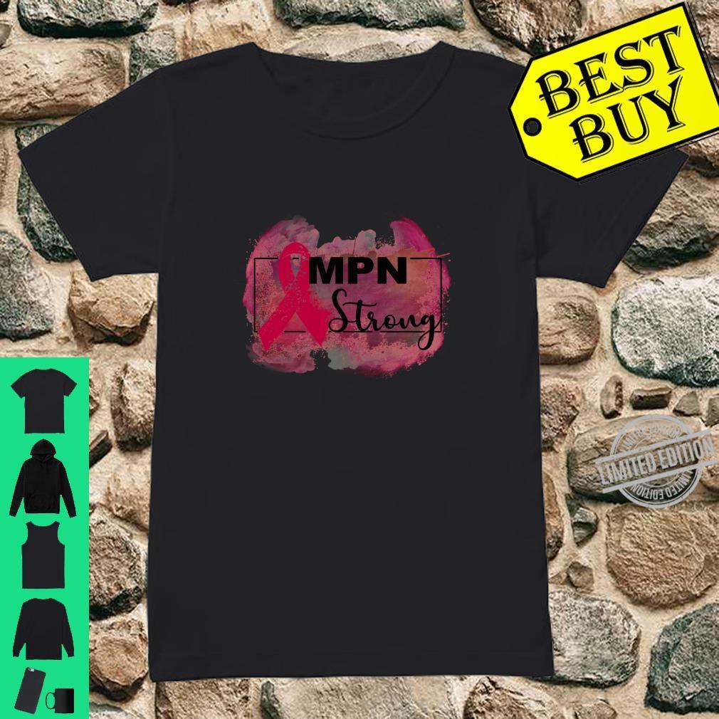 Myeloproliferative neoplasms awareness Shirt ladies tee