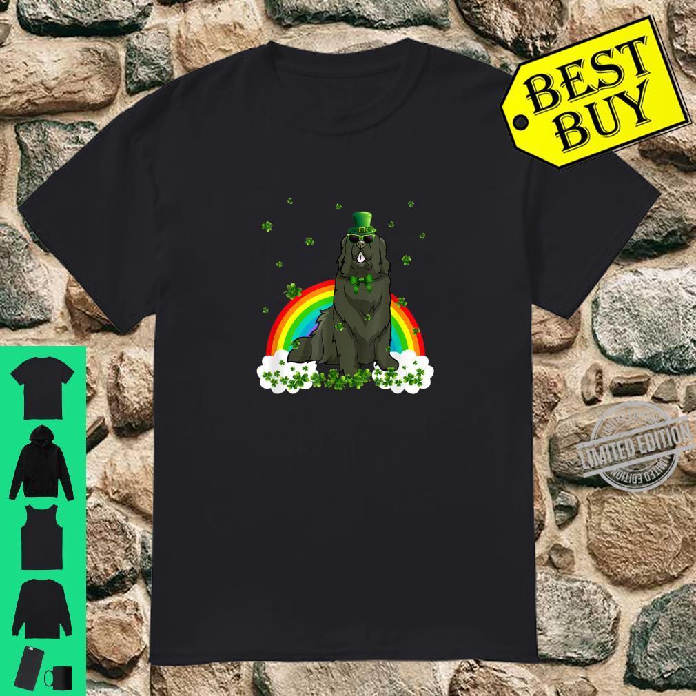 Newfoundland St Patricks Day Leprechaun Dog Shirt
