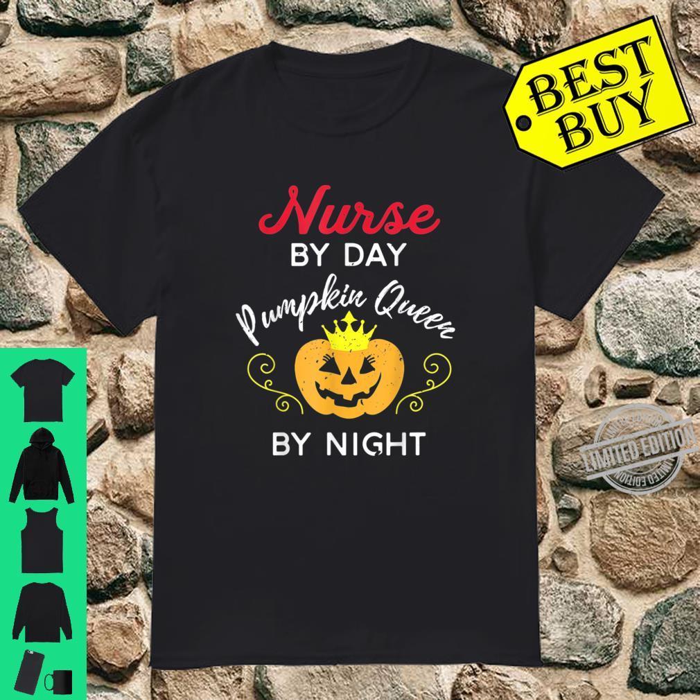 Nurse Pumpkin Queen Halloween Party Shirt