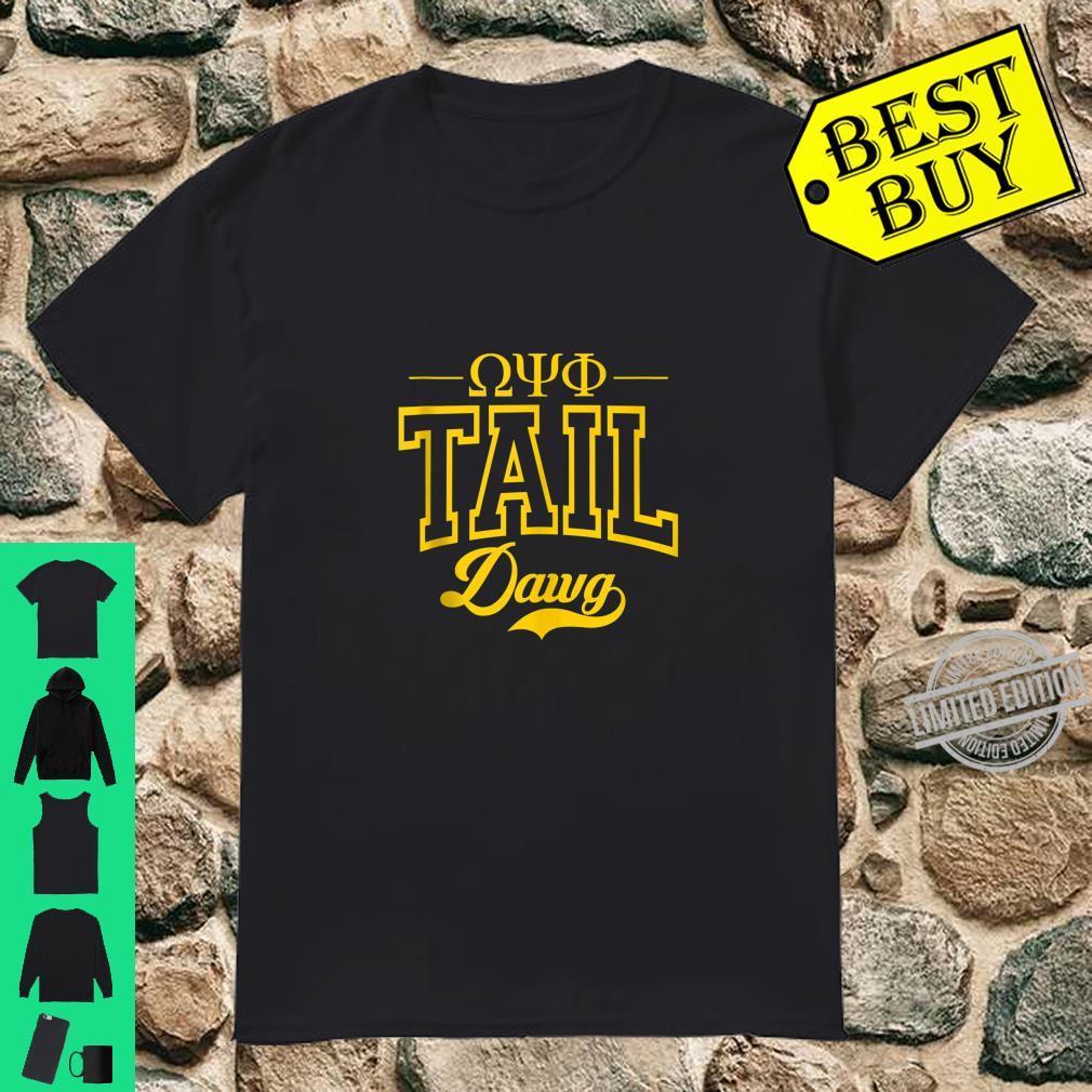OmegaPsiPhi Fraternity TailDawg Greek Shirt