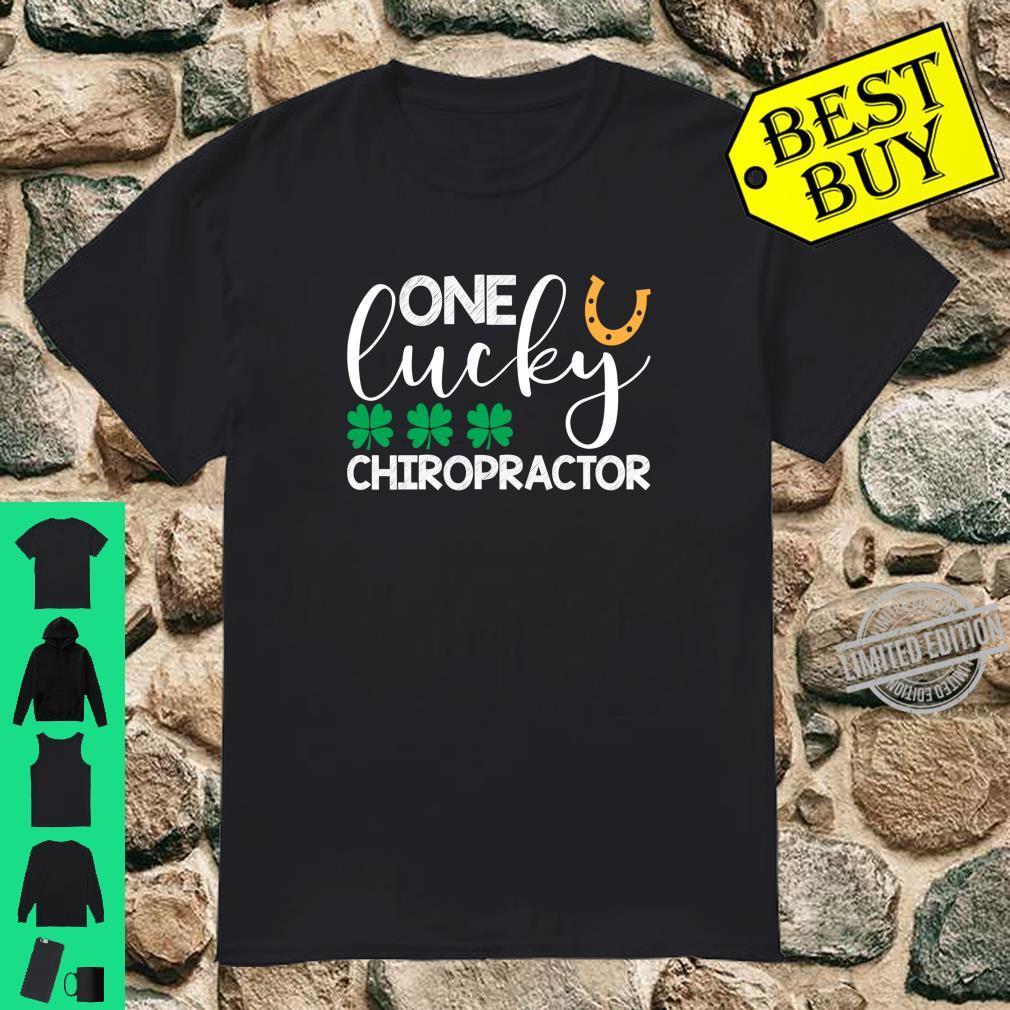 One Lucky Chiropractor St Patricks Day Shirt