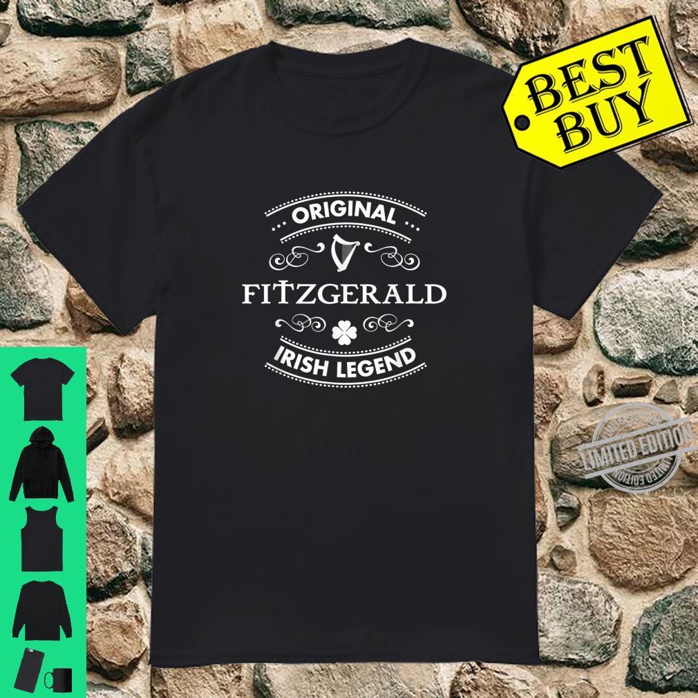 Original Irish Legend Fitzgerald Irish Family Name Shirt