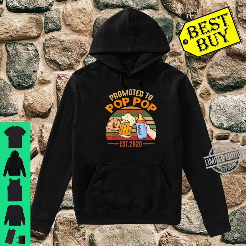Promoted to Pop Pop est 2020 Vintage Arrow Shirt hoodie