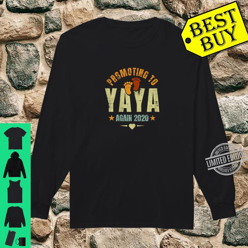 Promoting To Yaya Again 2020 Coming Greek Grandma Yaya Again Shirt