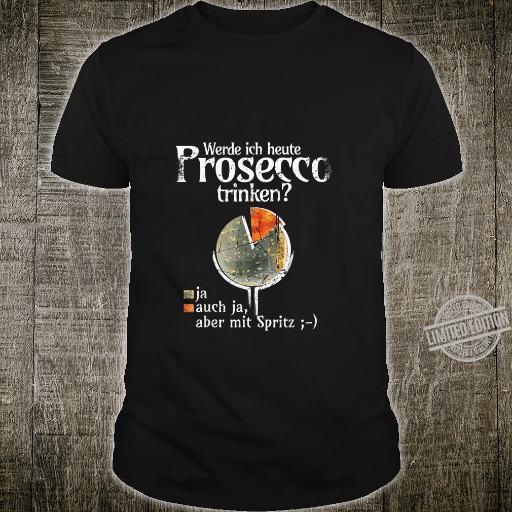 Prosecco Aperolspritz Party Cocktail Outfit Shirt
