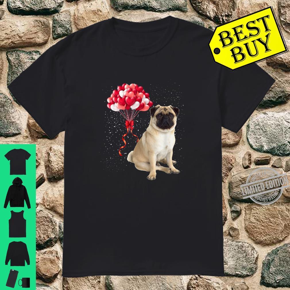 Pug Dog Valentines Day Dog Love Valentine Shirt