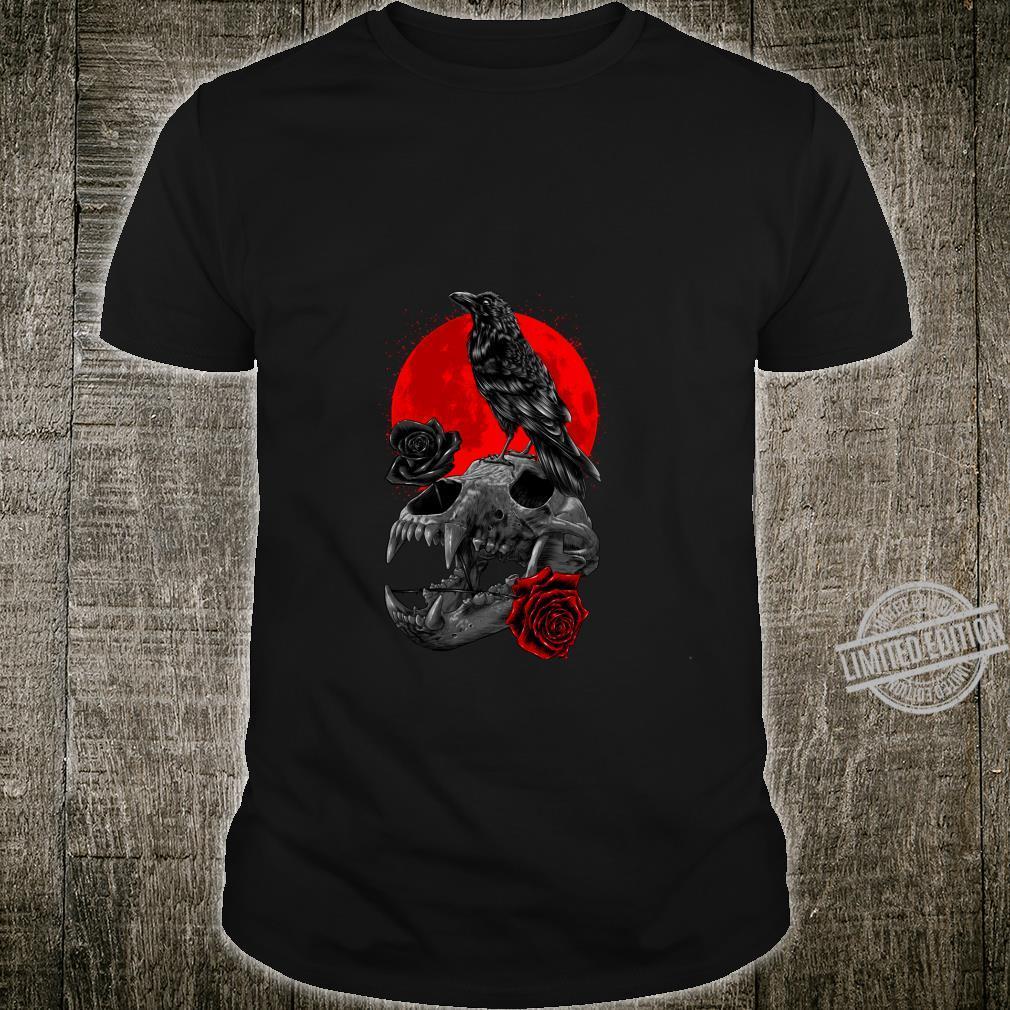 Rabenschädelbärenmond Langarmshirt Shirt