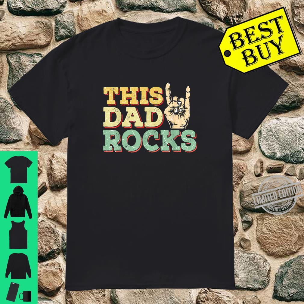 Rock Dad Rock and Roll Music Guitar Daddy Shirt