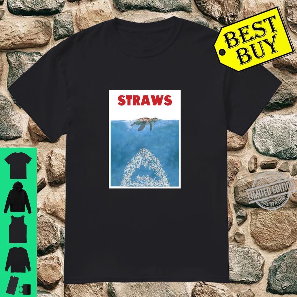 Save The Sea Turtles Anti Straws Langarmshirt Shirt