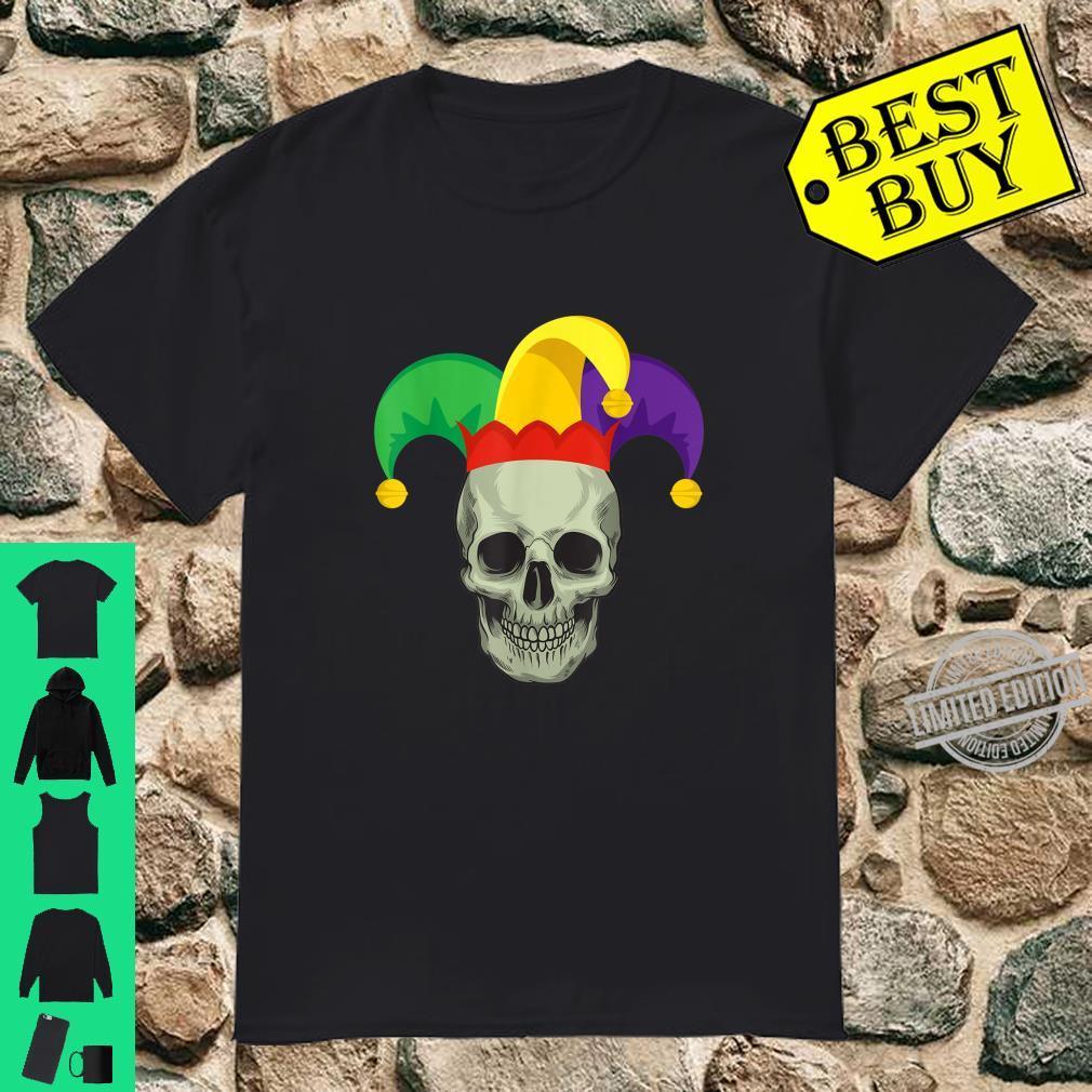 Skull Carnival Mask Mardi Gras New Orleans Shirt