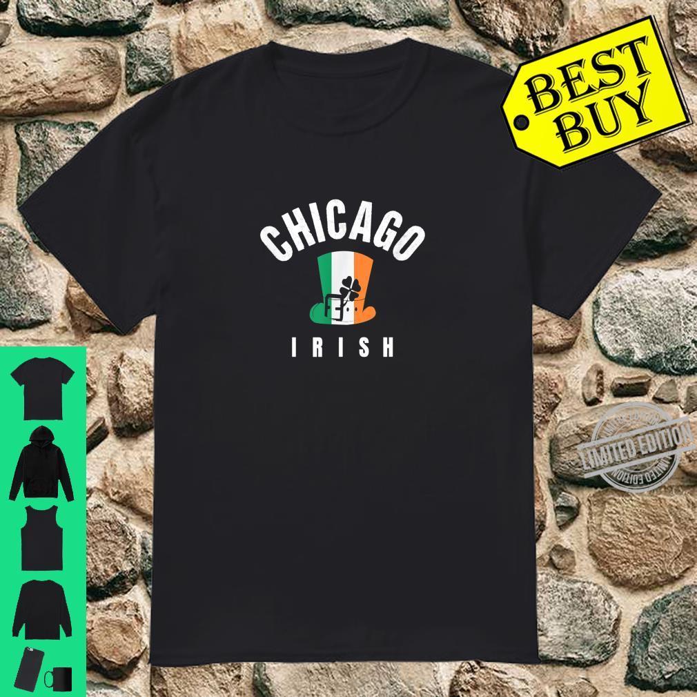 St Patricks Chicago IL Green Cute Irish Saint Pattys Lucky Shirt