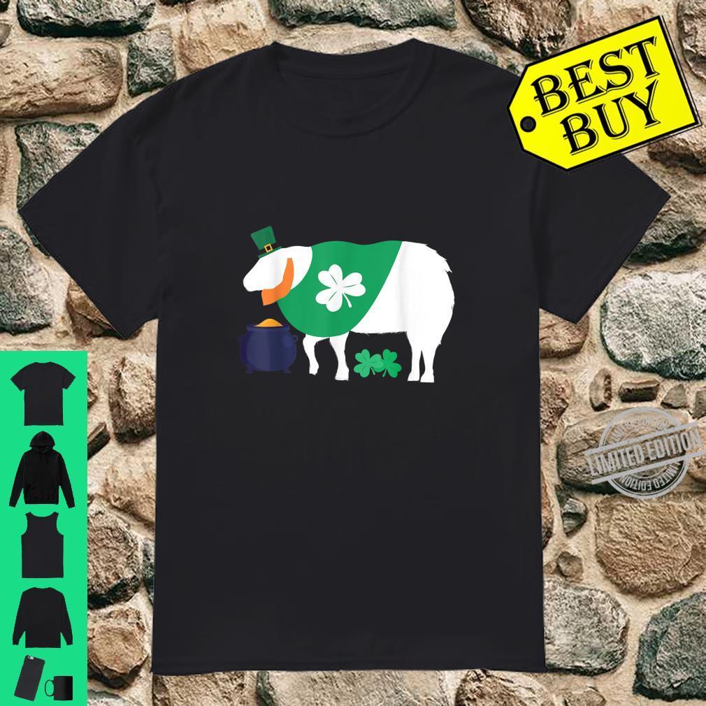 St Patricks Day Sheep Farmer Animal Shirt