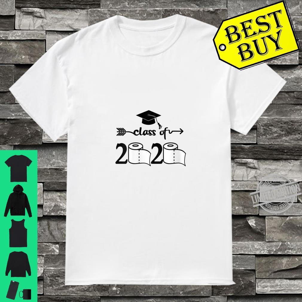Womens Class of 2020 Shirt Graduation Toilet Paper Outta TP Shirt